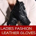 Warm Winter Women Sheepskin Leather Gloves For Women Ladies Black Thickening Genuine Leather Gloves Female Fleece Lined Mittens