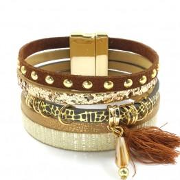 leather bracelet 6 color bracelets summer charm bracelets Bohemian bracelets&bangles for women gift wholesale jewelry B1627